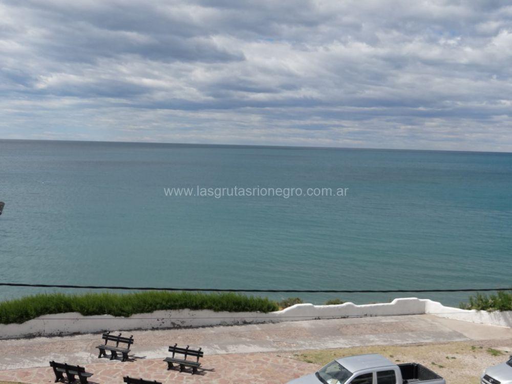Depto 4 pax c/balcón frente al mar